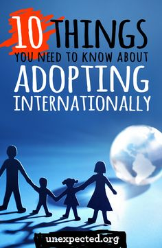 As a mom of three, two adopted internationally, I get a lot of questions about adopting our girls. Your experience is probably different than mine, but in an attempt to answer some of the questions we've received, here are my top 10 things you need to know before adopting internationally.