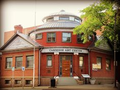 Carnegie Art Center  -  		This unusual building in Dodge City, Kansas was once a Carnegie  Library