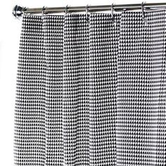 Extra Long Shower Curtain Bathroom Curtains Black And Whi... Https://