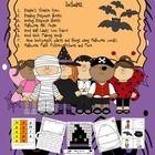 Halloween Stations Includes: Reader's Theater Poem Reading Response Sheets Writing Response Sheets Halloween ABC Order Word Wall Candy Corn Frame W...