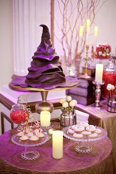 Harry Potter Sorting Hat wedding cake groom's cake // Harry Potter Wedding Ideas That Are Totally Reception-Worthy