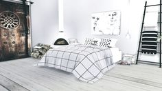 Sims 4 CC's - The Best: Bedroom Set by viikiitastuff