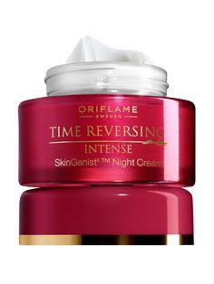 Crema de Noche Antienvejecimiento Time Reversing Intense SkinGenistII™ | Oriflame Centro América