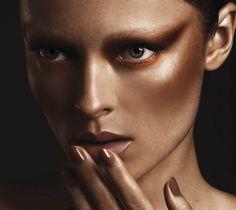 makeup bronze