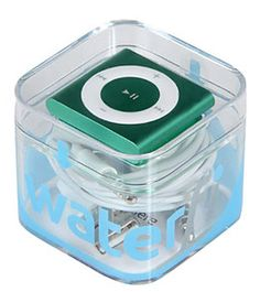 Waterfi iPod Shuffle (5th Gen) Waterproof Swim Set - because I am tiring of deducing square roots of random numbers in my head while I swim (ok, geeky!)