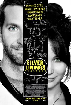 Silver Linings Playbook. LOVE the book, can't wait to see the movie.