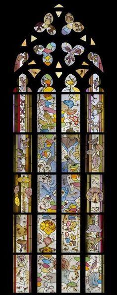De Nieuwe Kerk, Amsterdam / Glas-in-lood / Marc Mulders