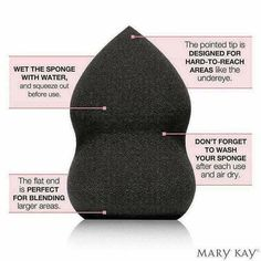 Achieve a flawless finished face with this Mary Kay Blending Sponge. Limited Edition.