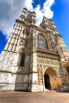Towers of Westminster abbey London 2