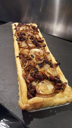 tarte à l'oignon super rapide - Cuisinez avec flo