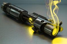 What Color Lightsaber Would You Wield? I got yellow. (I didn't know that there were yellow ones!)