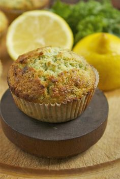 Kale and Lemon Muffins - it's possible I may have to lie to my husband about what's in these. They do look good.