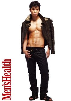 2PM Chan Sung - Men's Health Magazine May Issue '10