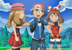 Advanceshipping ash x may on pinterest ash deviantart and pokemon