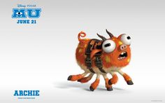 Wallpapers Monsters University Archie.