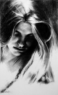 William Rose   Calypso,   charcoal