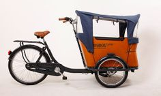 Babboe cargo bike from A Street Bike Named Desire in Palo Alto, CA. This is my dream!!!!! Just need to plunk down a few Gs.