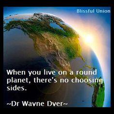 Choosing sides...
