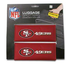 San Francisco 49ers Luggage Spotter 2-Pack