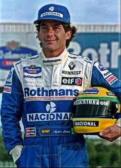 —- Legend —– Ayrton Senna, Williams —-