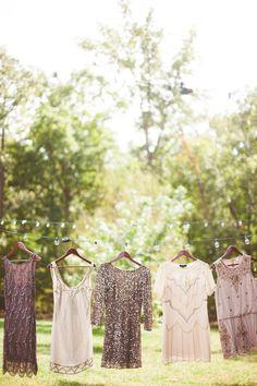 Vintage-Inspired Wedding Fashion: Glam Sequins