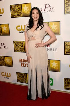 2014 Critics' Choice Television Awards Red Carpet - Laura Prepon