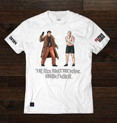 PD Tee:  I'VE SEEN THINGS YOU PEOPLE WOULDN'T BELIEVE  #tshirt #bladerunner #deckard #roybatty #scifi #retro #80s #cultclassic #charactertees #pd #mgo #preserveddragons Roy Batty, Blade Runner, Vinyl Lettering, Heat Press, Dragons, Shirt Designs, Retro, Tees, People