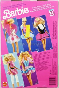 Barbie La Mia Prima Foreign Fashions #9247 New in Package 1989 Mattel, Inc. 3+ | eBay