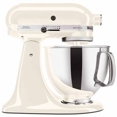 KitchenAid Artisan 5-qt. Stand Mixer KSM150PS ($500) ❤ liked on Polyvore featuring home, kitchen & dining, kitchenaid, kitchen aid food grinder, kitchen aid pasta maker, kitchenaid pasta maker and kitchenaid food grinder