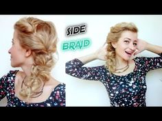EASY LAZY HAIRSTYLE SIDE BRAID | Awesome Hairstyles