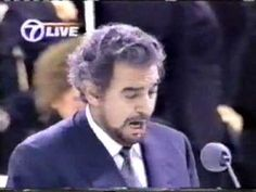 Placido Domingo sings Panis Angelicus and Ave Maria for Pope John Paul II Mass