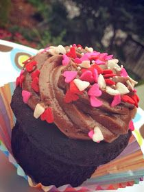 Cook Lisa Cook: Special Dark Chocolate Cupcakes with Chocolate Fluff Frosting ~ Gluten, Egg & Dairy Free