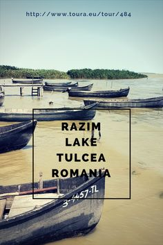 Razim Lake in Tulcea Romania (Danube Delta) Stuff To Do, Things To Do, Danube Delta, Day Trip, Tours, Places, Travel, Things To Make, Viajes