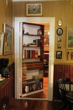 Beautiful Everything About Secret Bookcase Doors