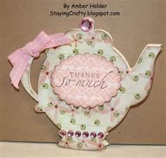 cricut wild card teapot card image - - Yahoo Image Search Results