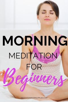 Then try this morning meditation for beginners. morning meditation routine, morning meditation for beginners tips, how to meditate in the morning, morning meditation for anxiety, morning meditation guided, meditation for beginners stress, how to meditate, #meditation #yoga #mindfulness #stressrelef