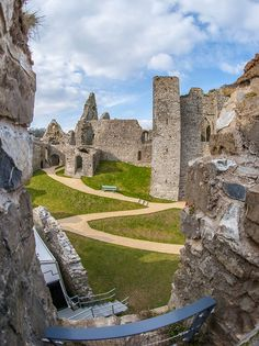 Oystermouth Castle, The Mumbles, Swansea, South Wales, UK
