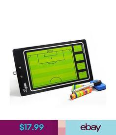 Training Aids Magnetic Football Coaching Tactics Board Soccer Training Pvc Board Folder+Marker #ebay #Lifestyle