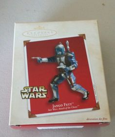 Star Wars Hallmark Ornament Jango Fett Attack of the Clones