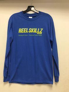 Reel Skillz 'Fishing is easy' T-Shirt