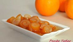 Orange Peel Jam Directions - Food and Drink Jam Recipes, Fruit Recipes, Appetizer Recipes, Cooking Recipes, Dessert Recipes, Appetizers, Delicious Fruit, Yummy Food, Vegetarian Breakfast Recipes
