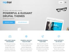 MegaDrupal provide high quality, professional Drupal themes that are highly configurable through Drupal theme. Beautiful Web Design, Intelligent Design, Drupal, Design Trends, How To Look Better, Coding, Smart Design, Programming