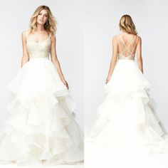 Watters 16005. #miabellacouture #miabellabridal #californiaglam #watters #16005 #happyfriday