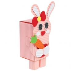 Make and stick and Rabbit Trinket Box and fill with chocolates to either keep yourself or give away as a gift.
