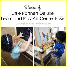 Little Partners Deluxe Learn and Play Art Center Easel Review and Giveaway (ARV $140)