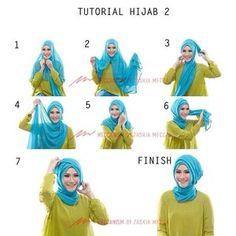 Hijab Tutorial 2 by Zaskia Adya Mecca #HijabTutorial