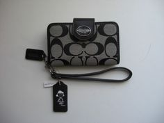 Coach Signature iPhone 4s Case Wallet w Coach X Peanuts Lucy Hang Tag Rare NWT #Coach