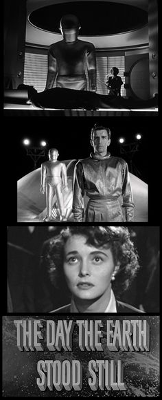 The Day the Earth Stood Still (1951) Michael Rennie and Patricia Neal