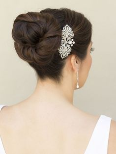 Wedding Hair Comb With Chain Vintage Clips Combs Cheap