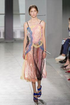 Spring 2016 Trends | Runway | Lingerie By Day | Christopher Kane Spring 2016 | POPSUGAR Fashion